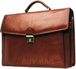 Портфель кожаный Katana k68125 коричневый
