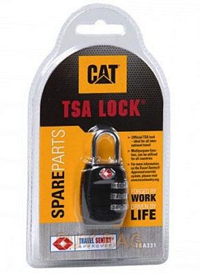 Навесной кодовый замок TSA CAT 80711